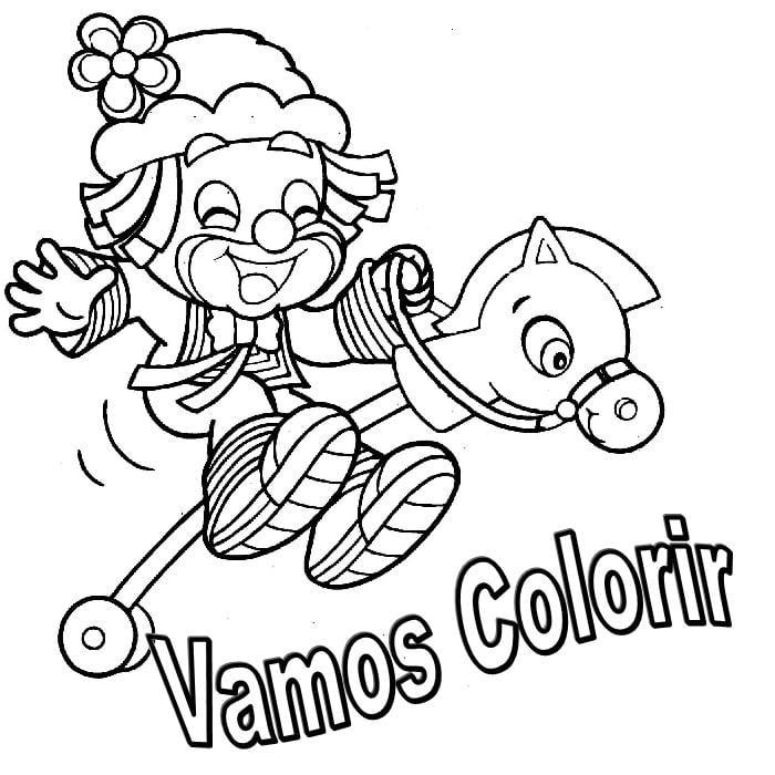 Imagens Para Colorir Patati Patata