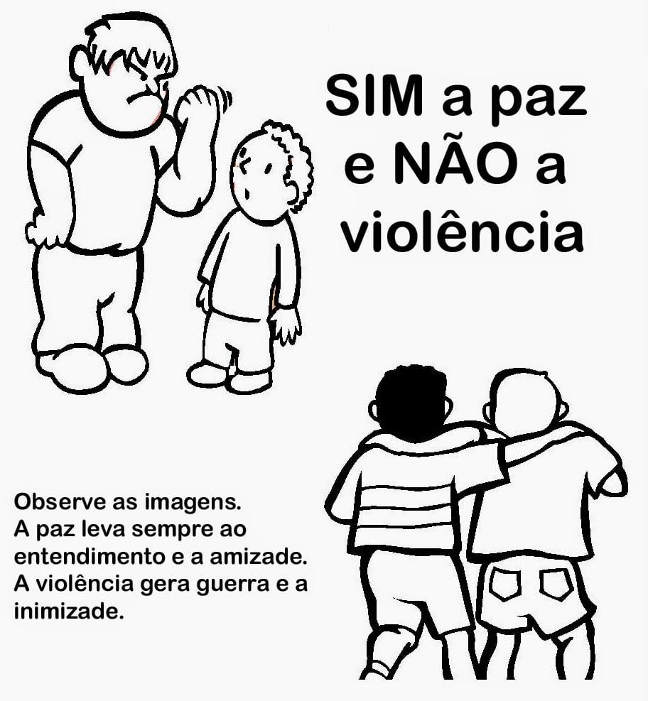 Desenhos De Violencia Para Colorir – Pampekids Net