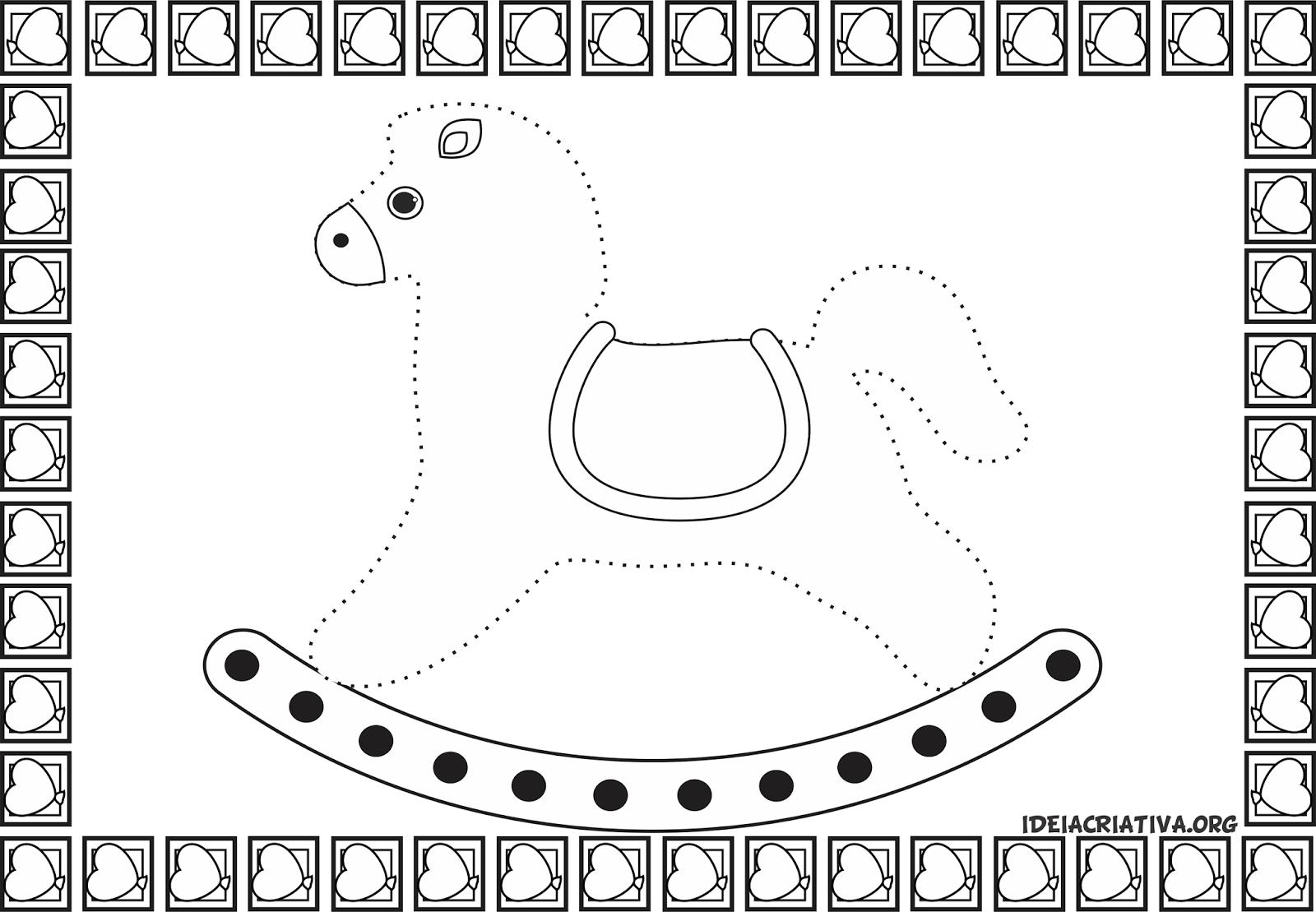 Desenho Pontilhados Para Imprimir