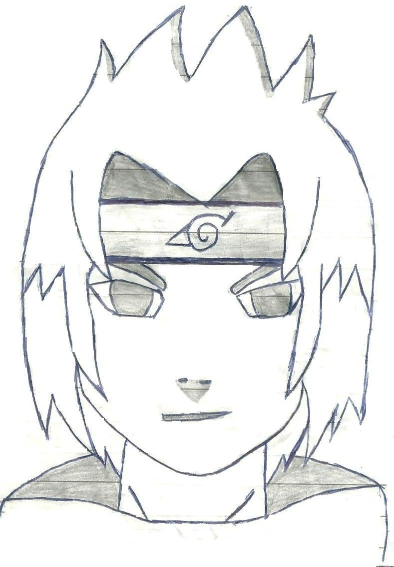 Foto Do Naruto Para Desenhar