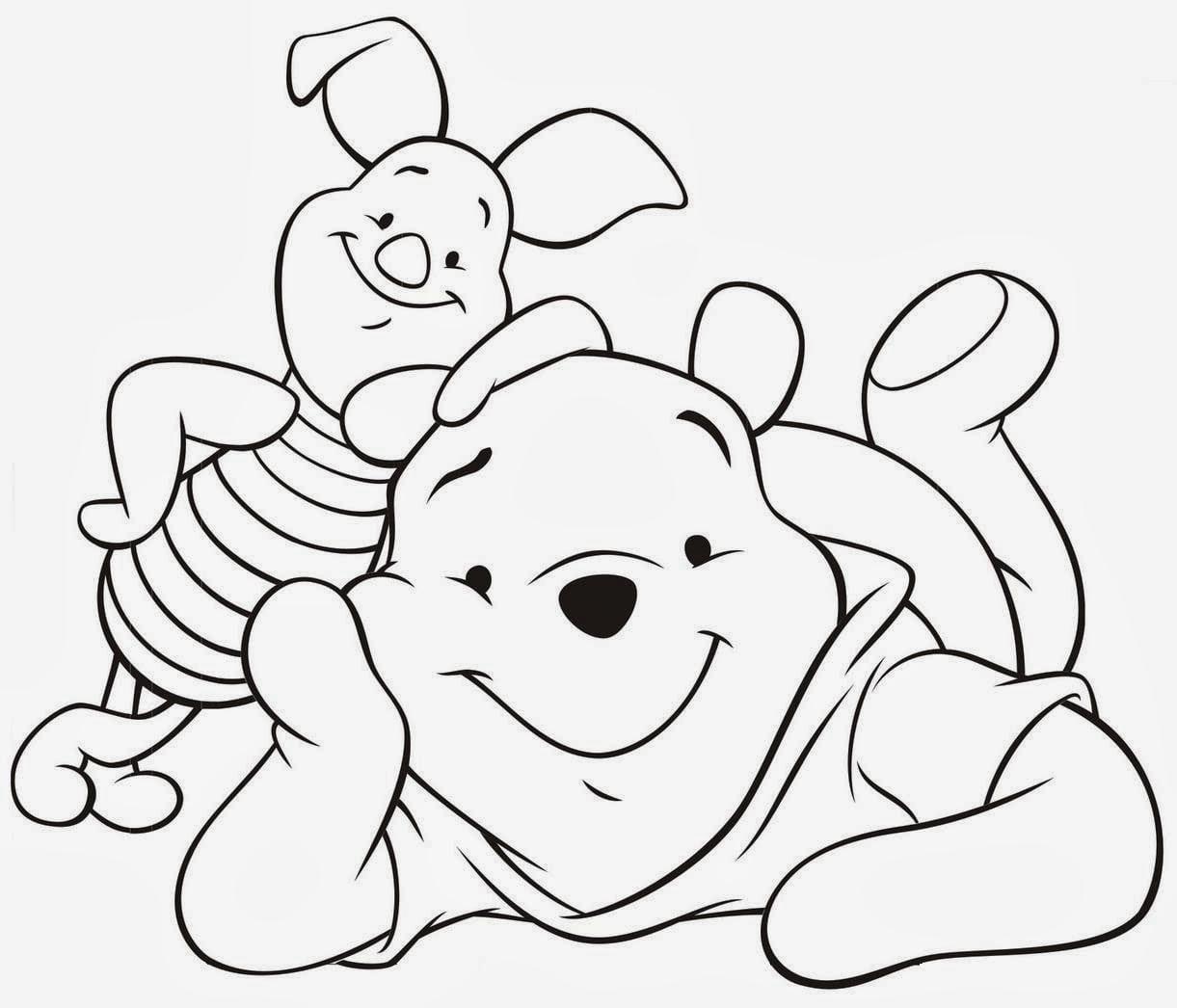 Desenhos De Colorir  Ursinho Puff