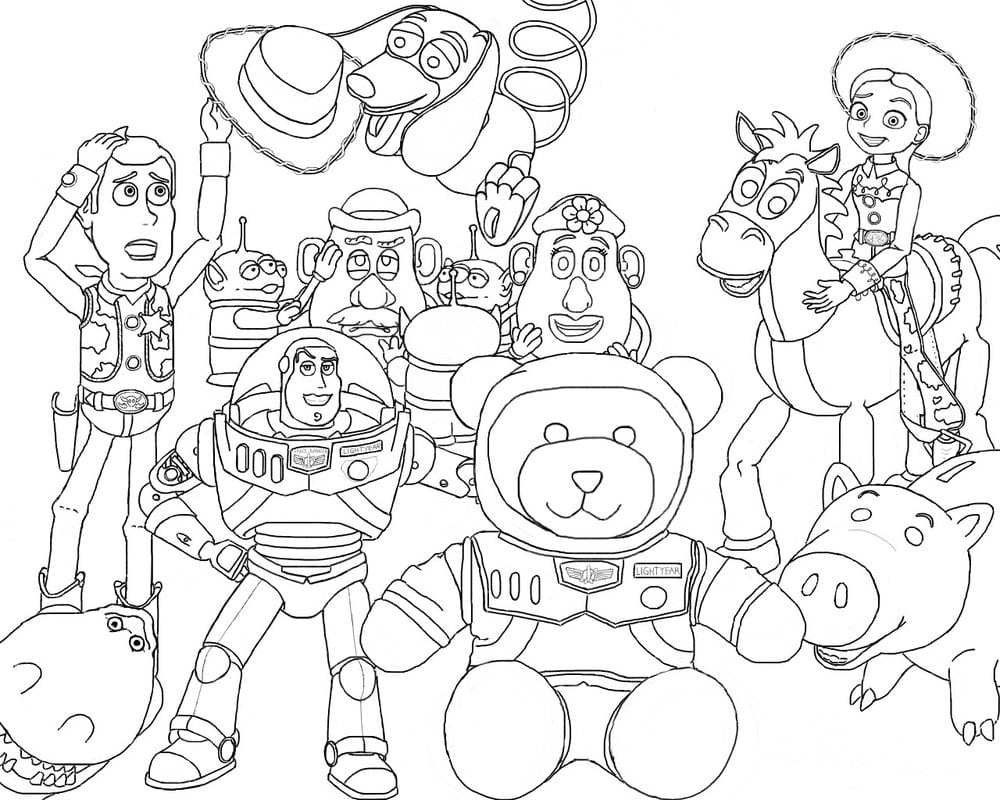 Toy Story And Friend By Pioka On Deviantart