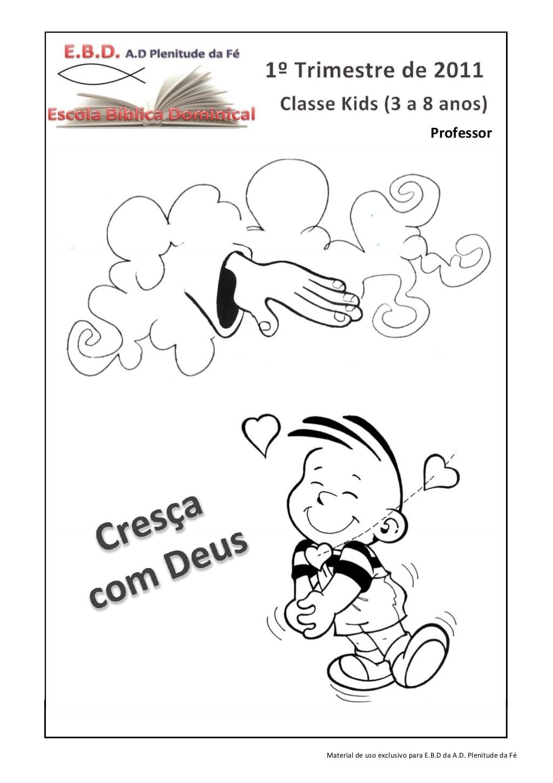 Material Crianças Ebd Professor By Sergio Silva Via Slideshare