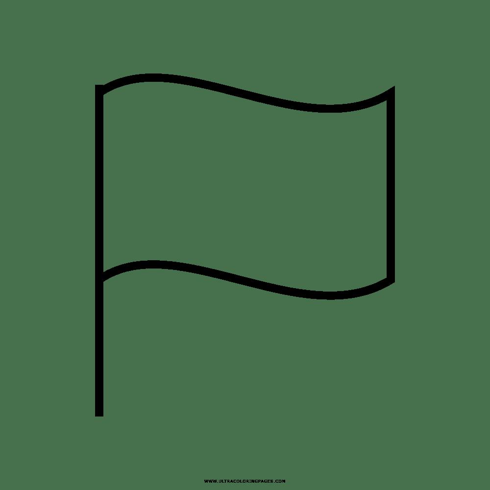 Bandeira Desenho Para Colorir