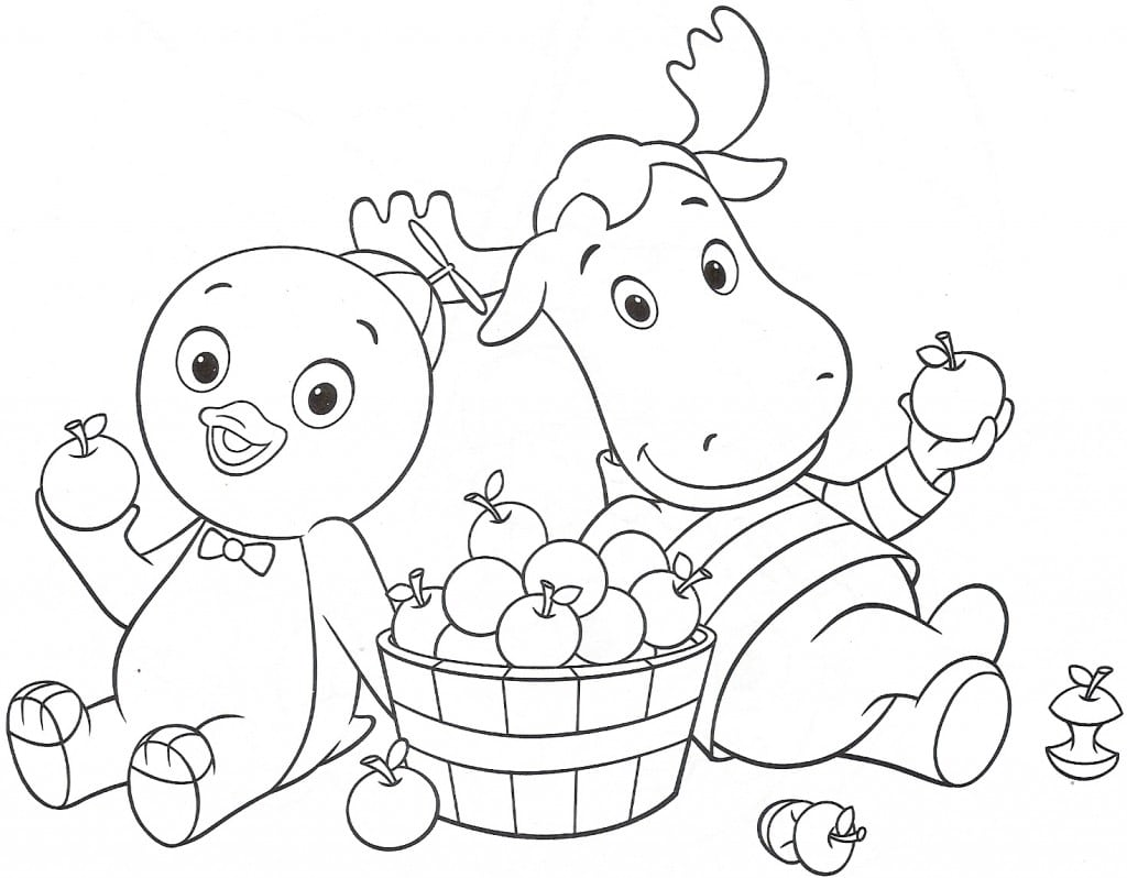 Backyardigans Coloring Pages For Kids