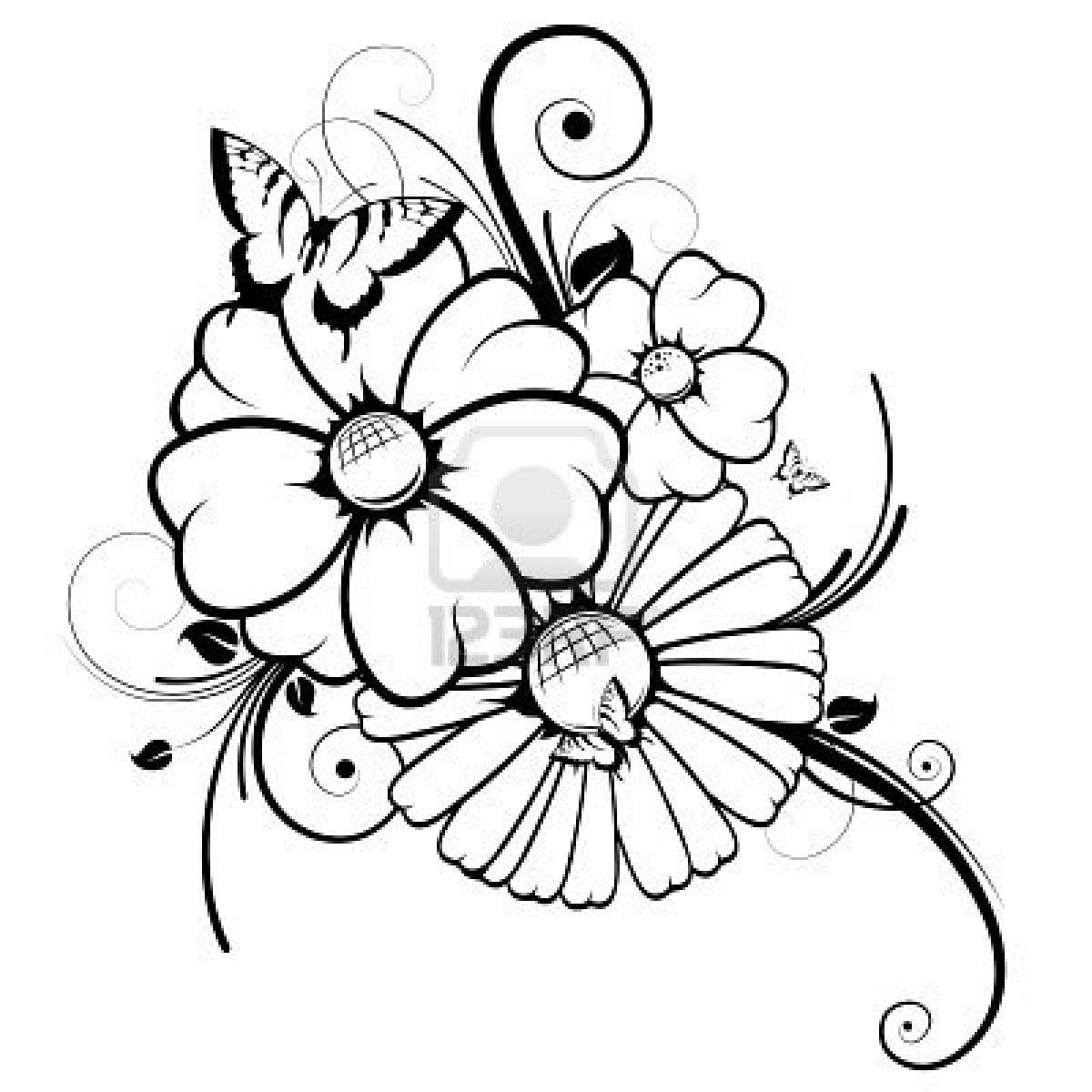 Aqui Podrás Descargar Imagenes De Dibujos De Flores Para Fondo De
