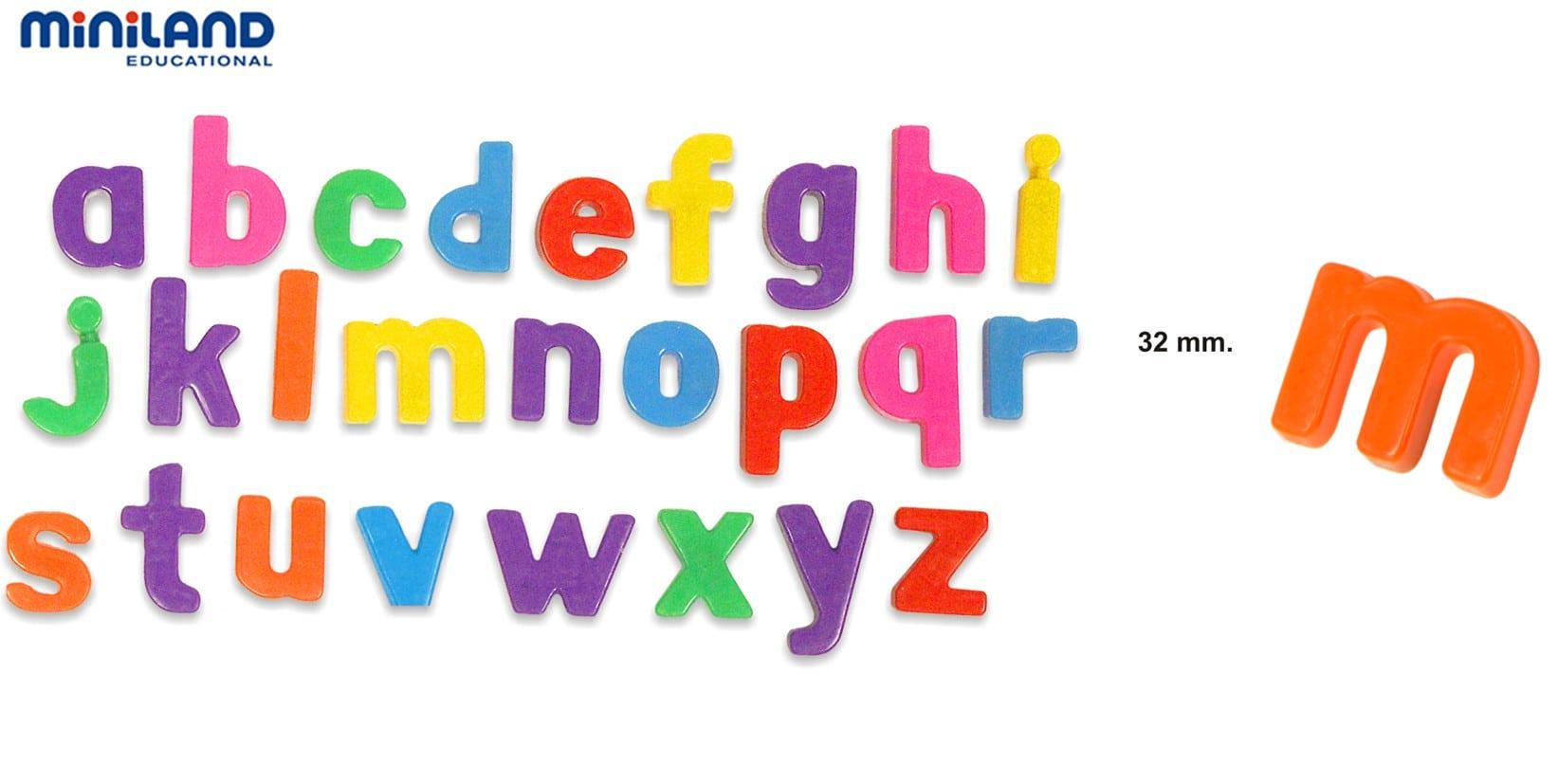 Juego Letras Magnéticas Minúsculas 160 Piezas