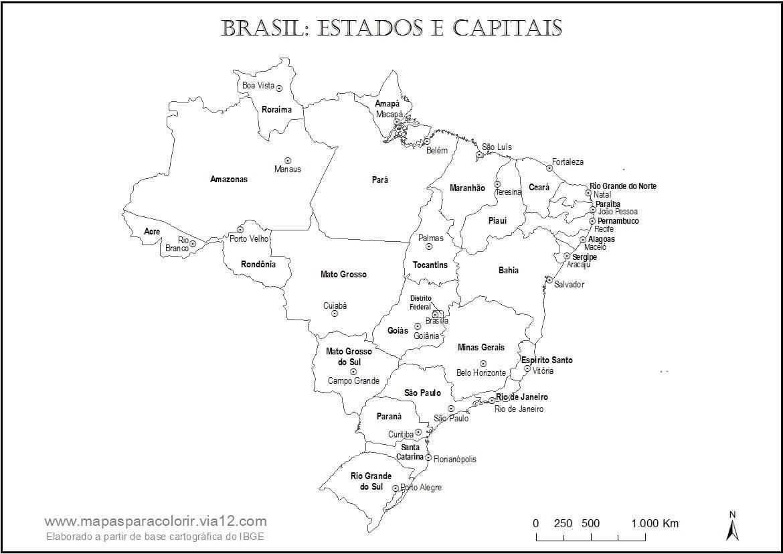 Quebra Cabeca Do Mapa Do Brasil Para Imprimir
