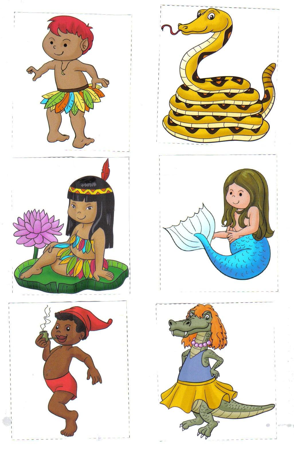 Brincando E Alfabetizando Na Creche Infância Alegre  Personagens