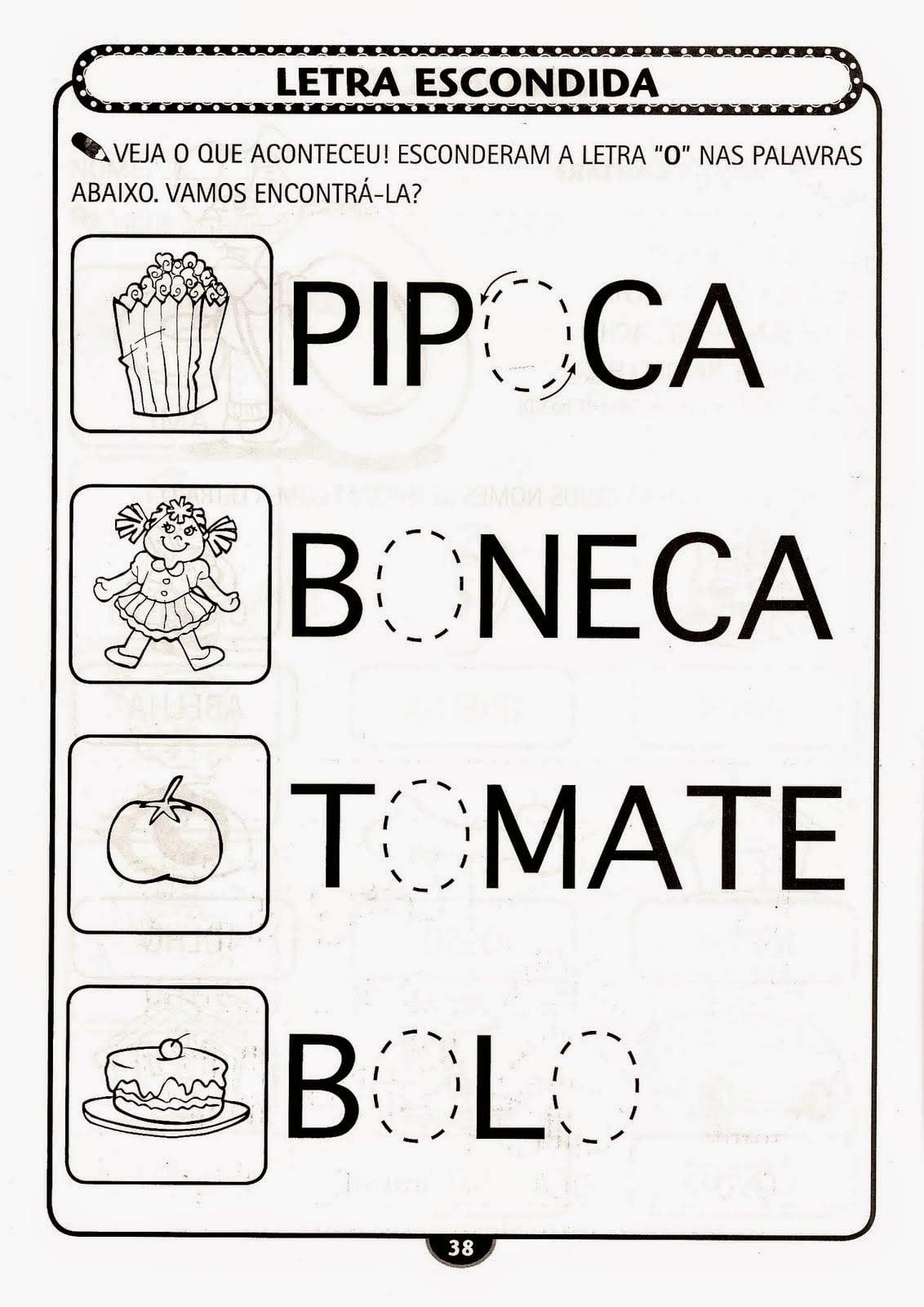 Atividades Pedagogicas Para Imprimir Qe82