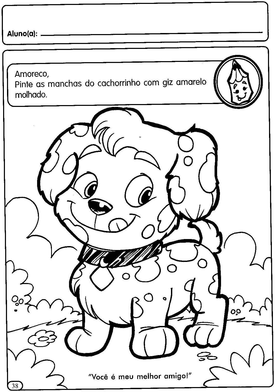 A Arte De Educar  Atividades Pontilhados Para Maternal