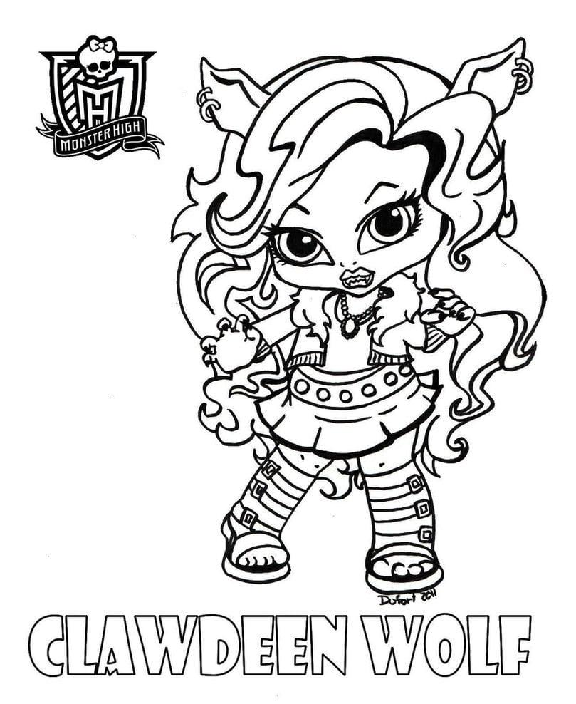 Baby Clawdeen By Jadedragonne On Deviantart