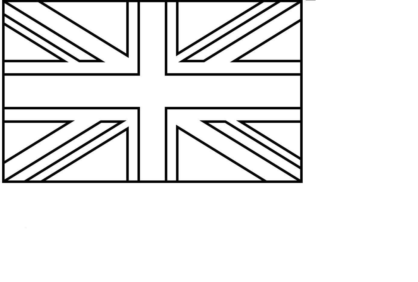 Bandeira Da Inglaterra Para Colorir – Pampekids Net