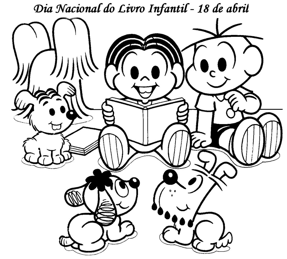Livro Infantil Para Colorir E Imprimir – Pampekids Net