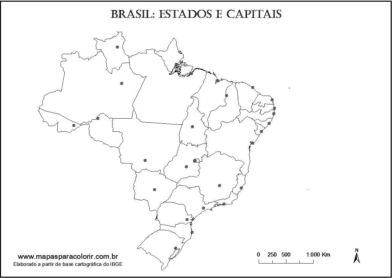 Suficiente Estados E Capitais Do Brasil Gw48