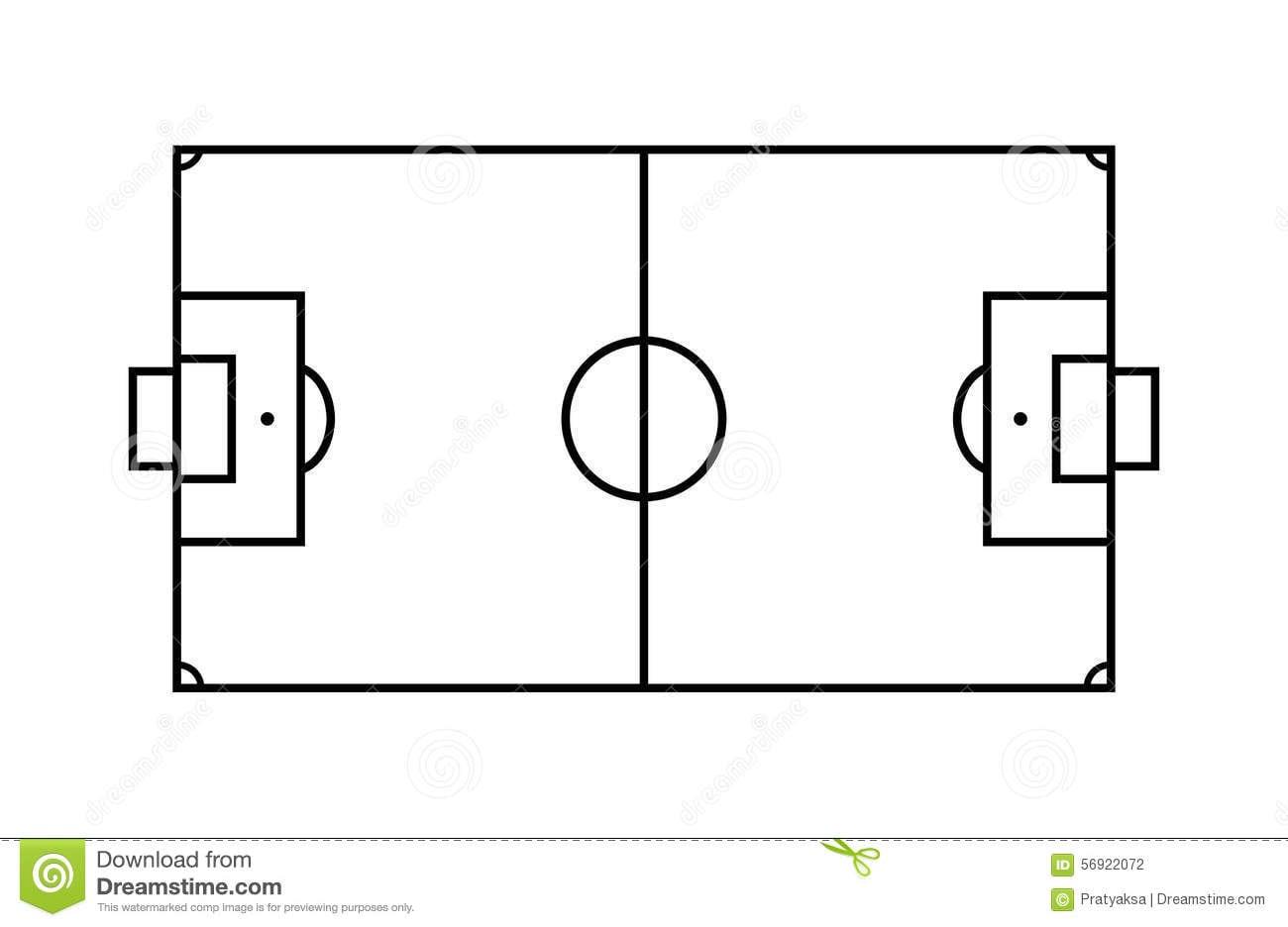 Campo De Futebol Desenho