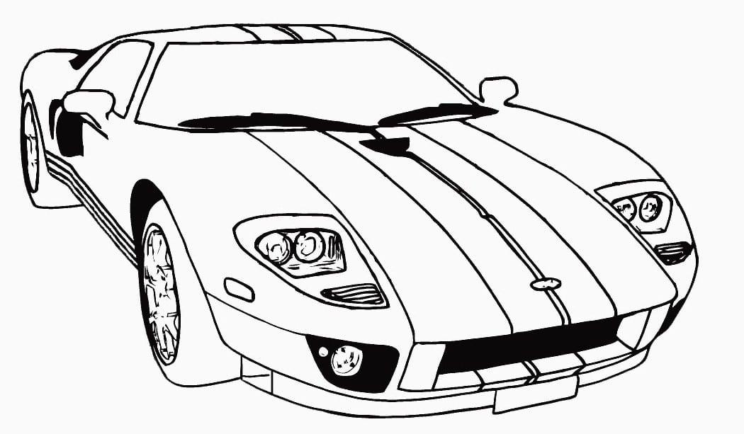 Desenho Carros Para Colorir E Imprimir