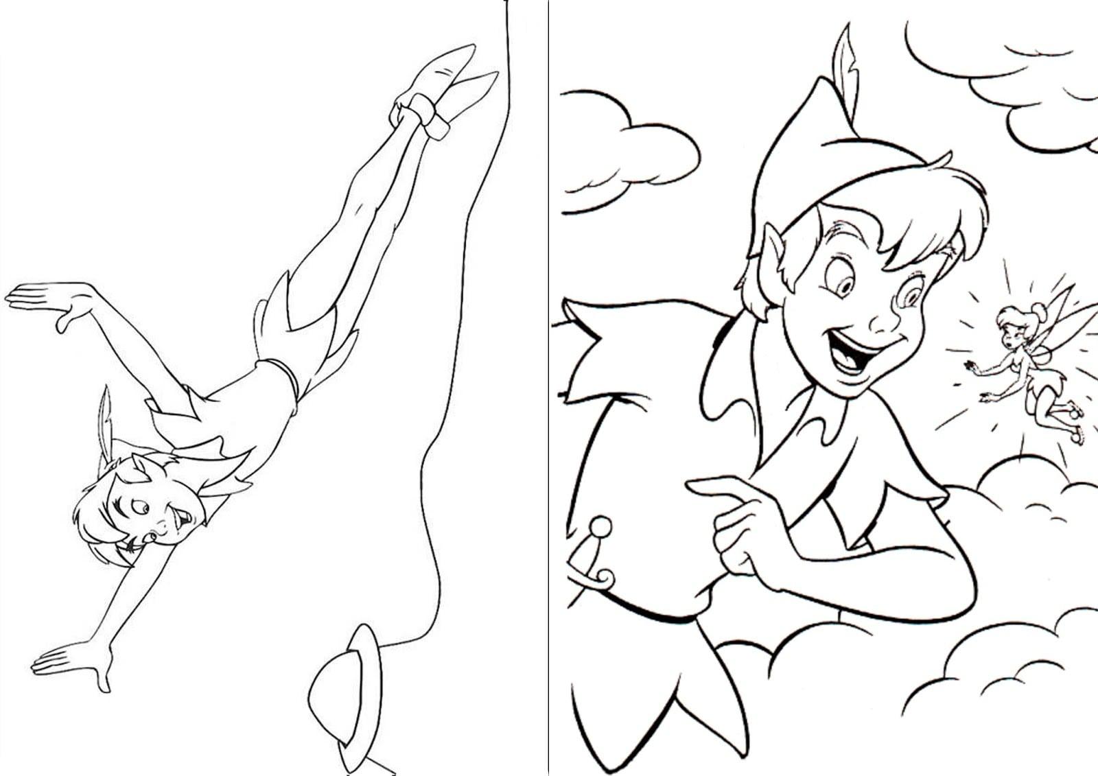 Desenhos Para Colorir Do Peter Pan