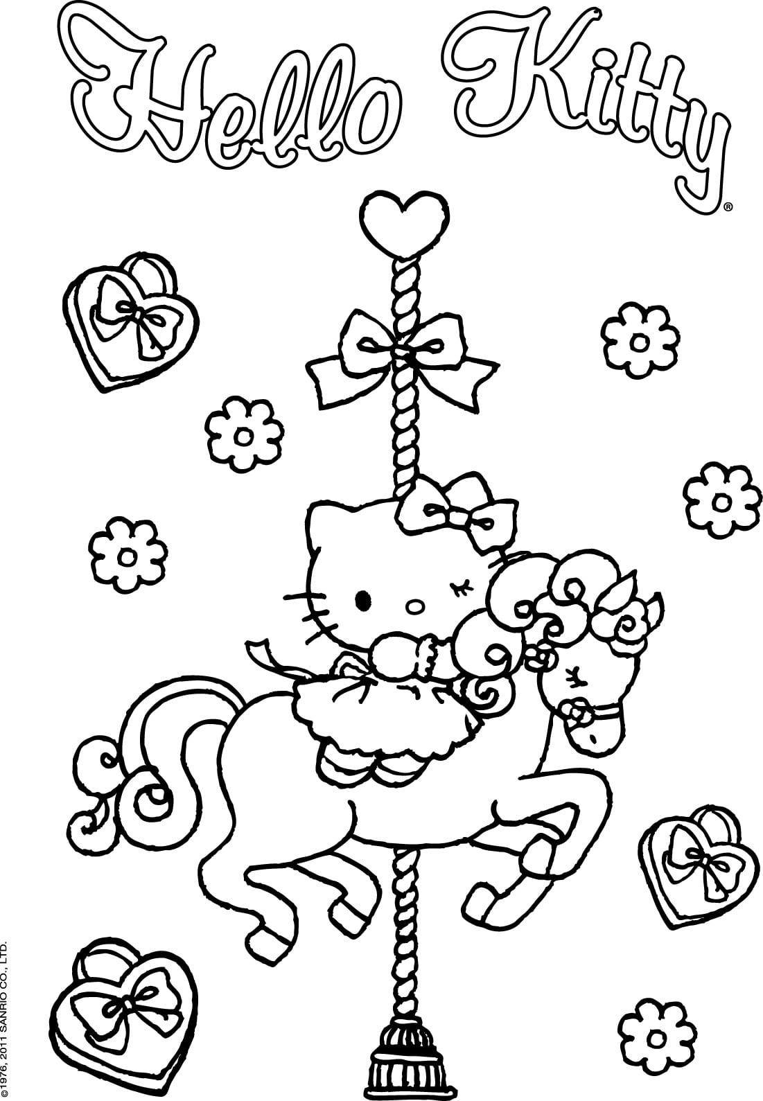 Desenho Da Hello Kitty Para Imprimir