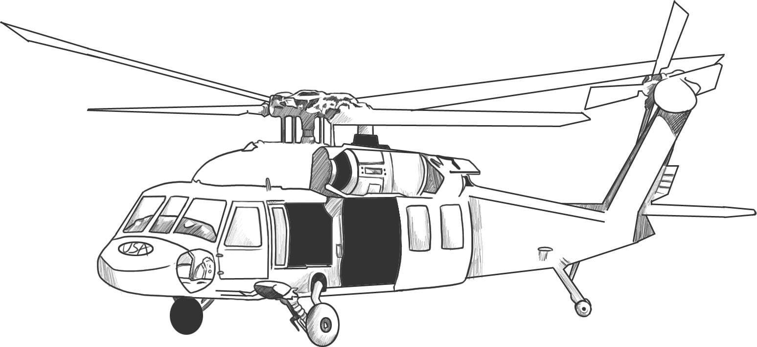 Como Desenhar Um Helicoptero