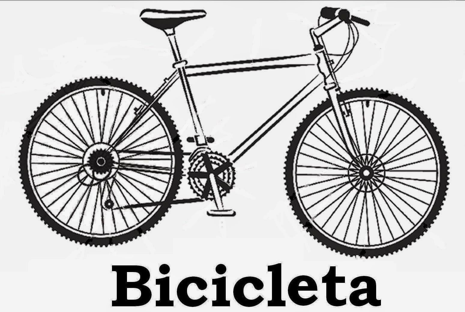Desenho De Bicicleta Para Imprimir – Pampekids Net