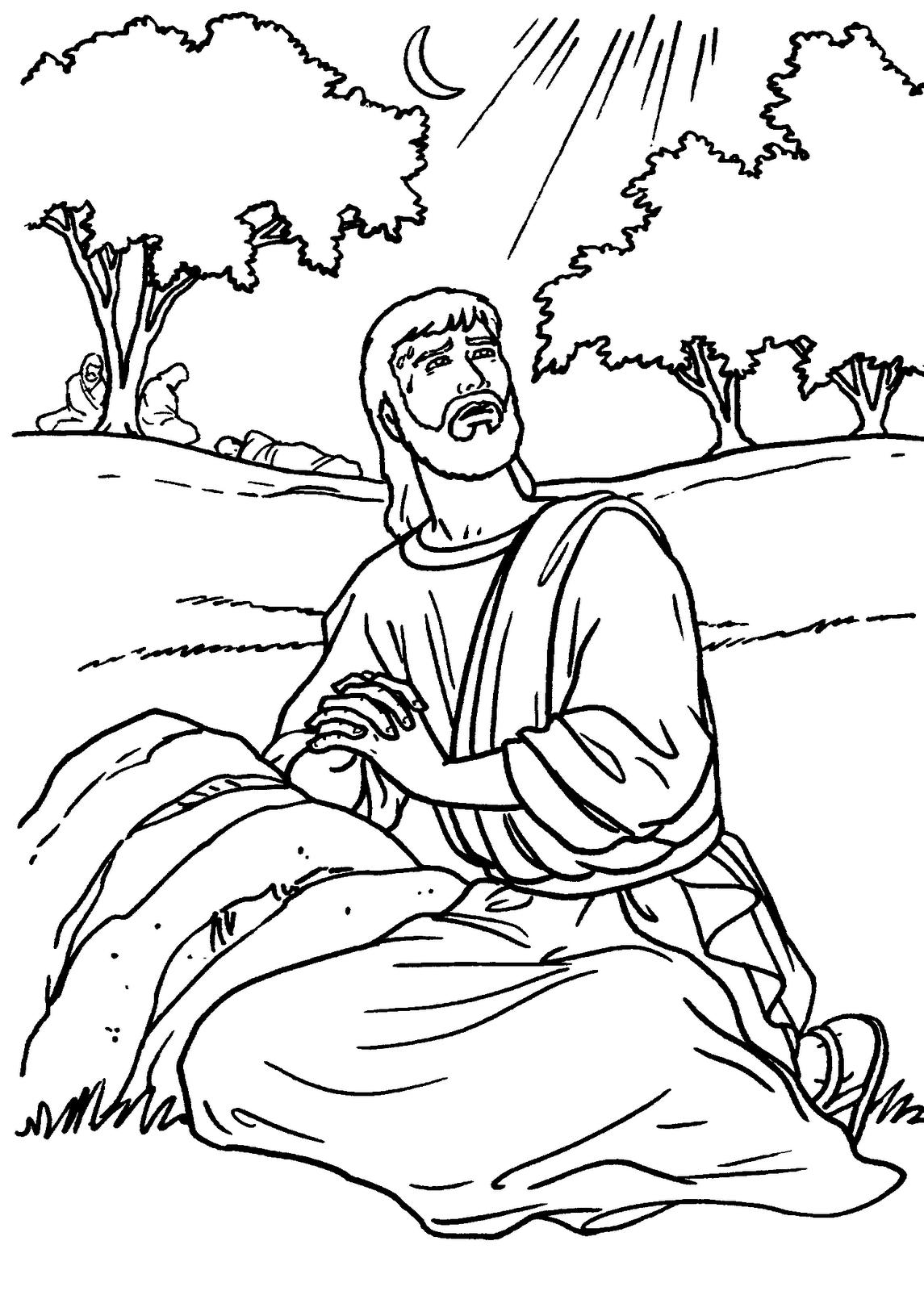 Desenhos Bíblicos Para Colorir
