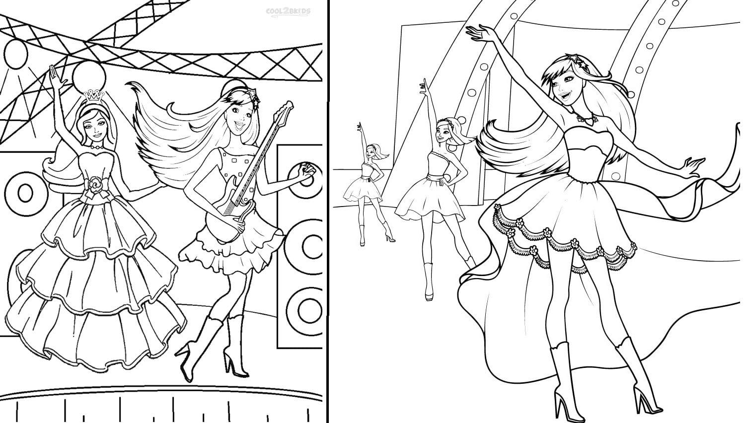 Desenhos Da Barbie Para Colorir  40 Opções Para Imprimir!