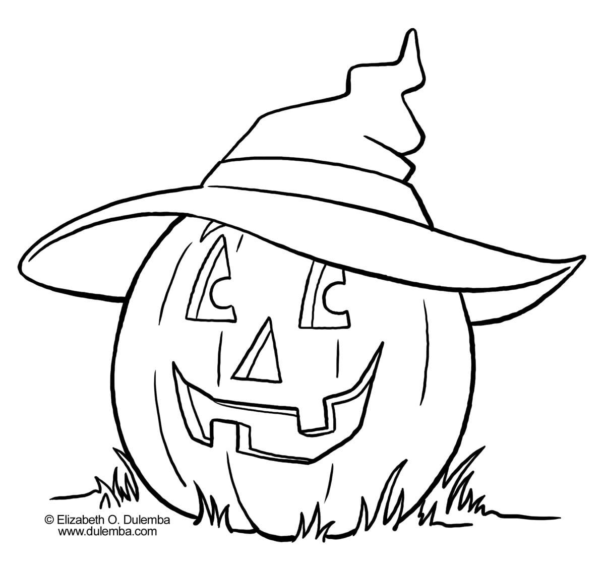 Colorir De Halloween