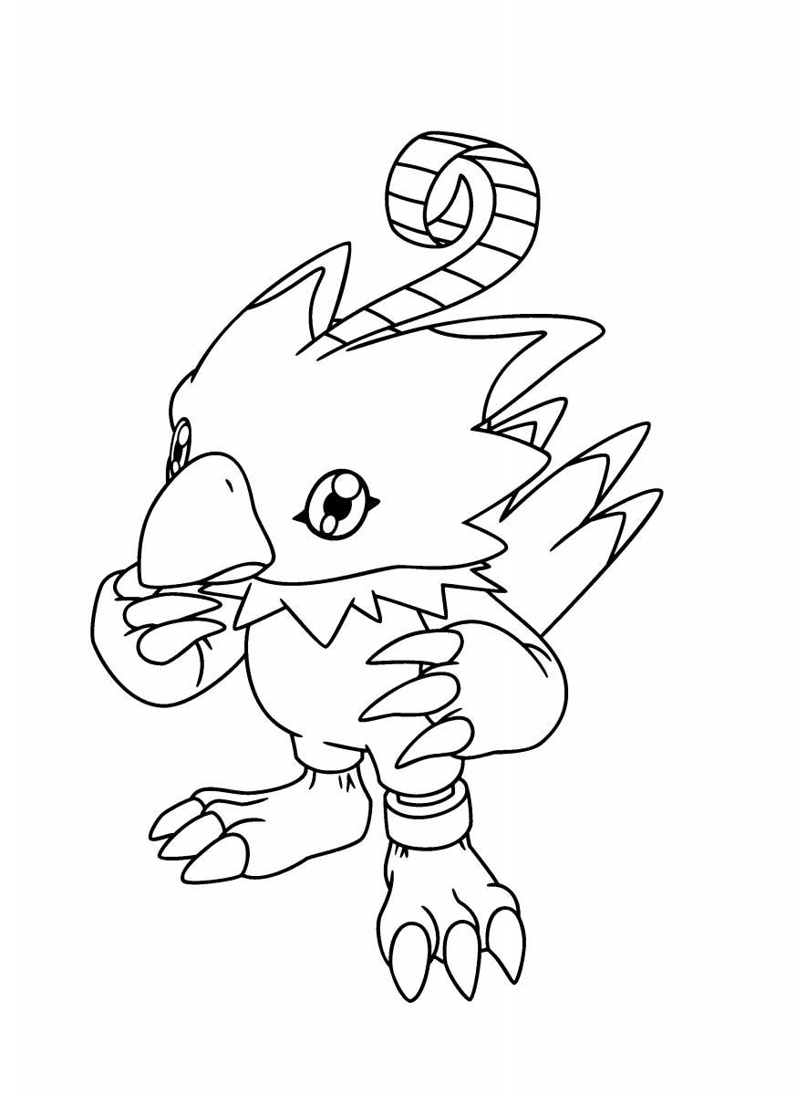 Desenhos Para Colorir De Digimon – Matring Org