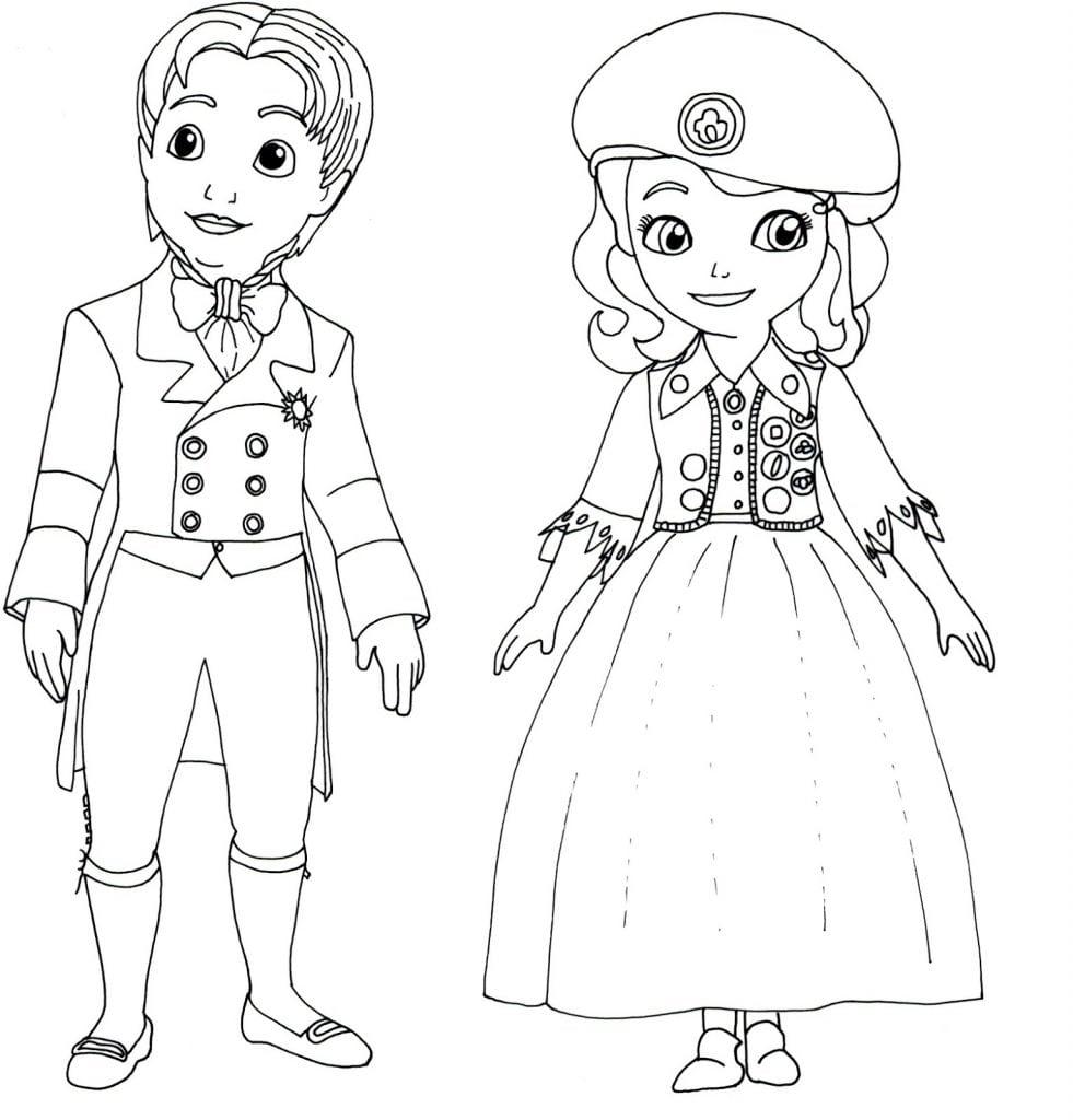 Princesa Sofia E James