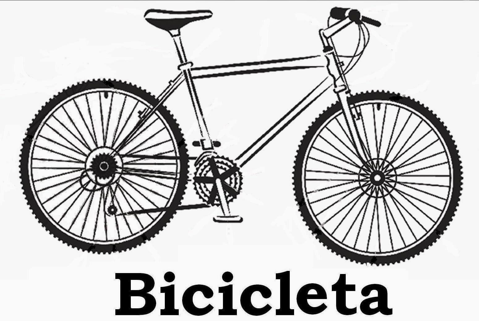 Desenhos Para Pintar Desenhos De Bicicletas Para Colorir