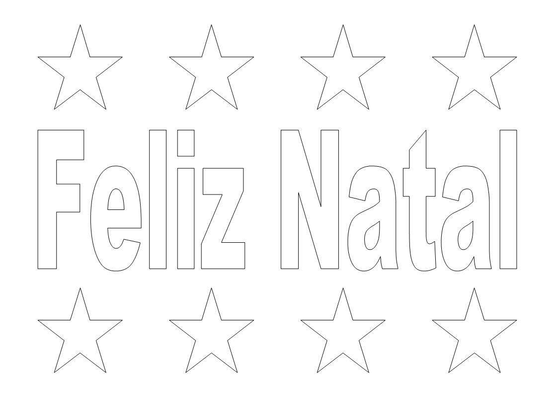 Imprimir Desenhos De Natal