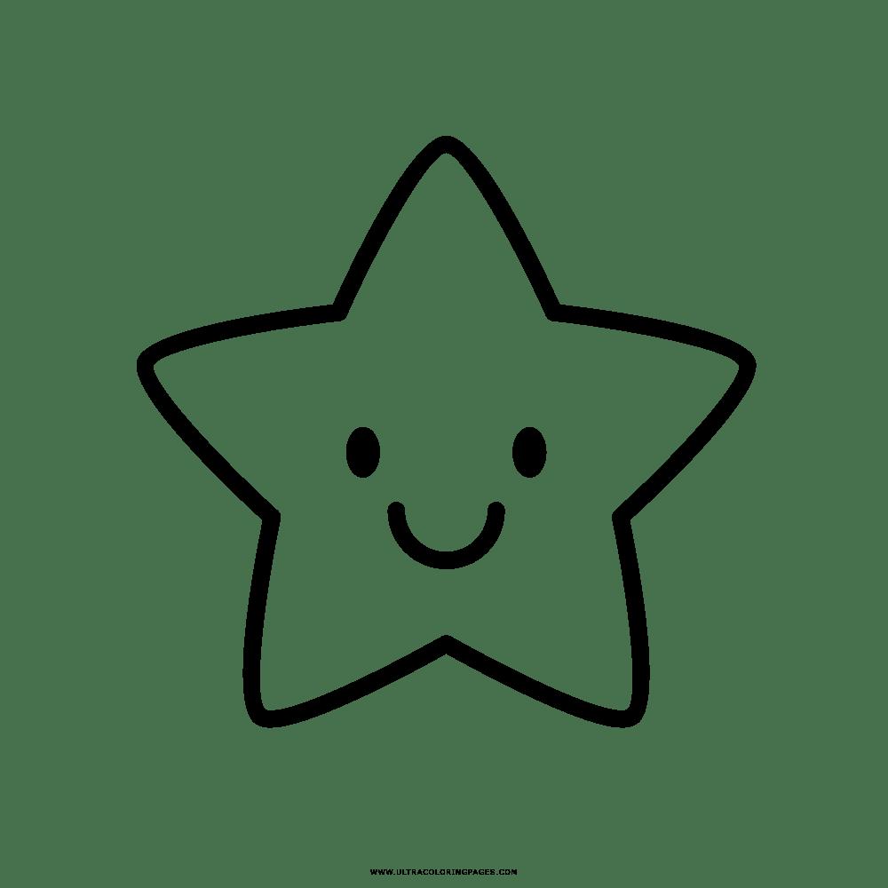 Único Desenhos De Estrelas Para Colorir E Imprimir