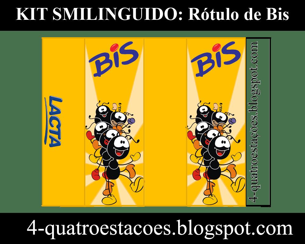 Kit Festa Para Imprimir Gratuito, Smilinguido, Rótulo De Bis