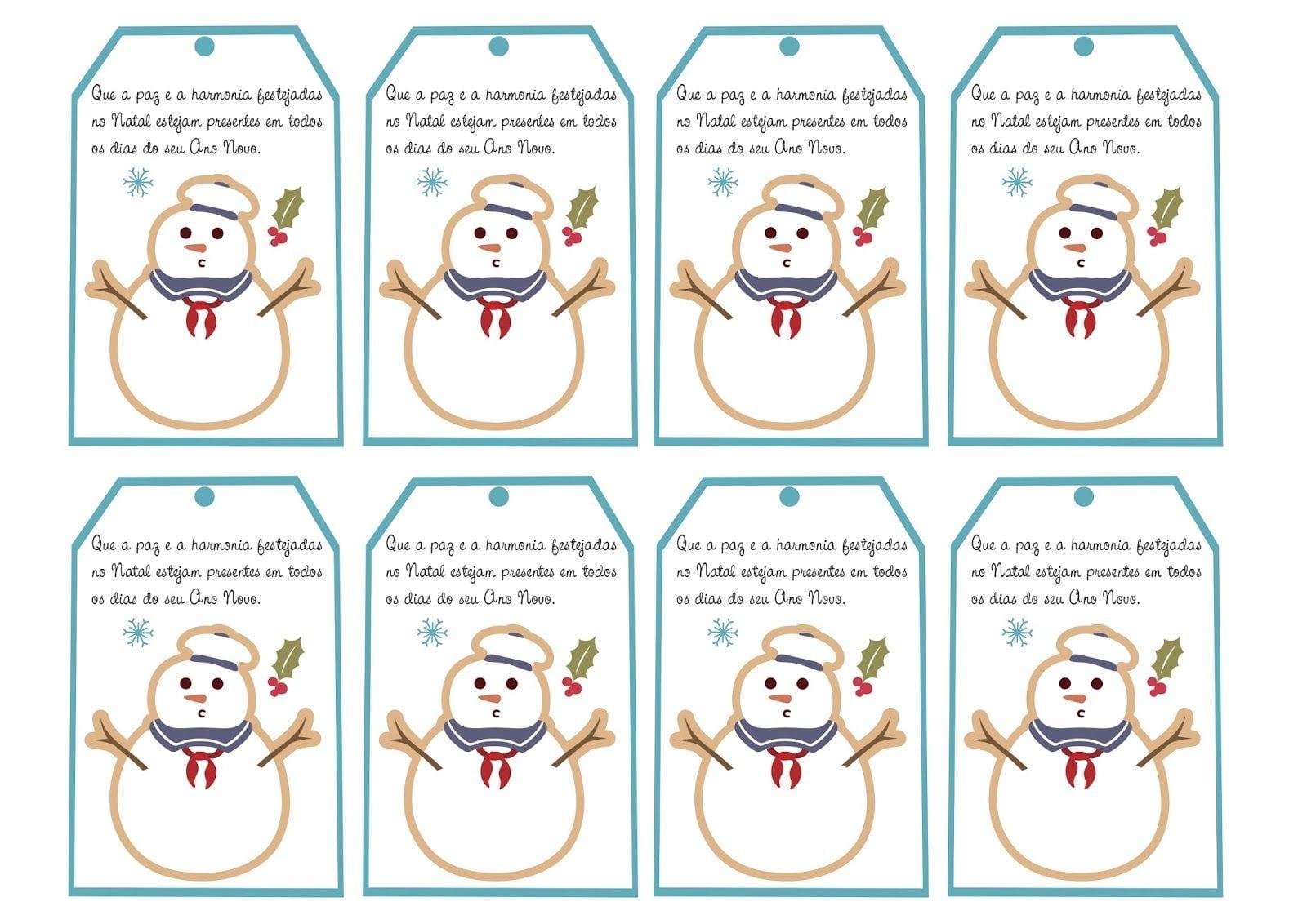 Cartões De Natal Com Mensagens Natalinas Para Imprimir