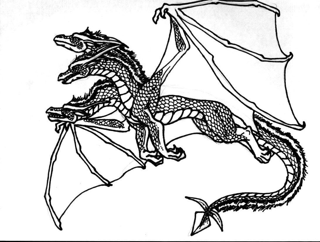 Dragoes Para Colorir – Pampekids Net