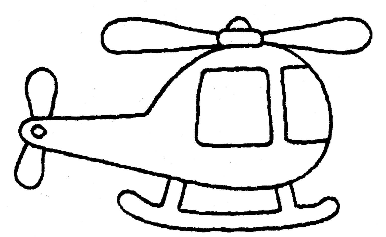 Desenho De Helic ptero Para Colorir