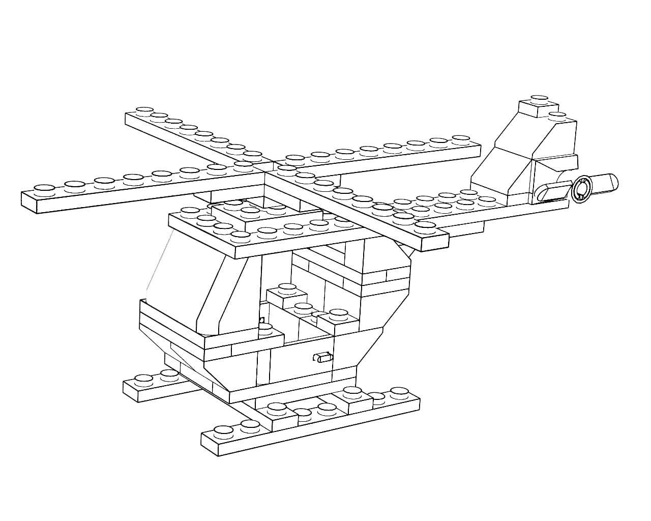 Helicóptero Lego Hd