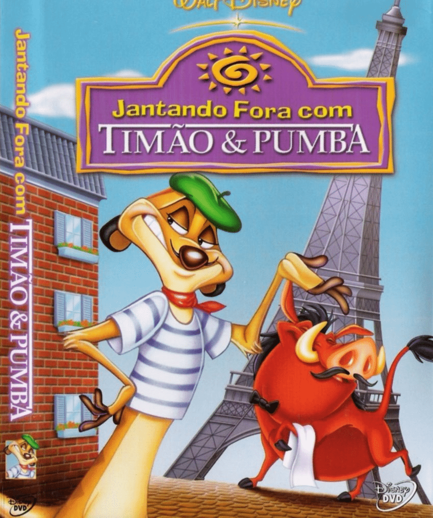 Timon Pumbaa Dining Out With Video Vhs Pal Video A Rare Zazu 39 S