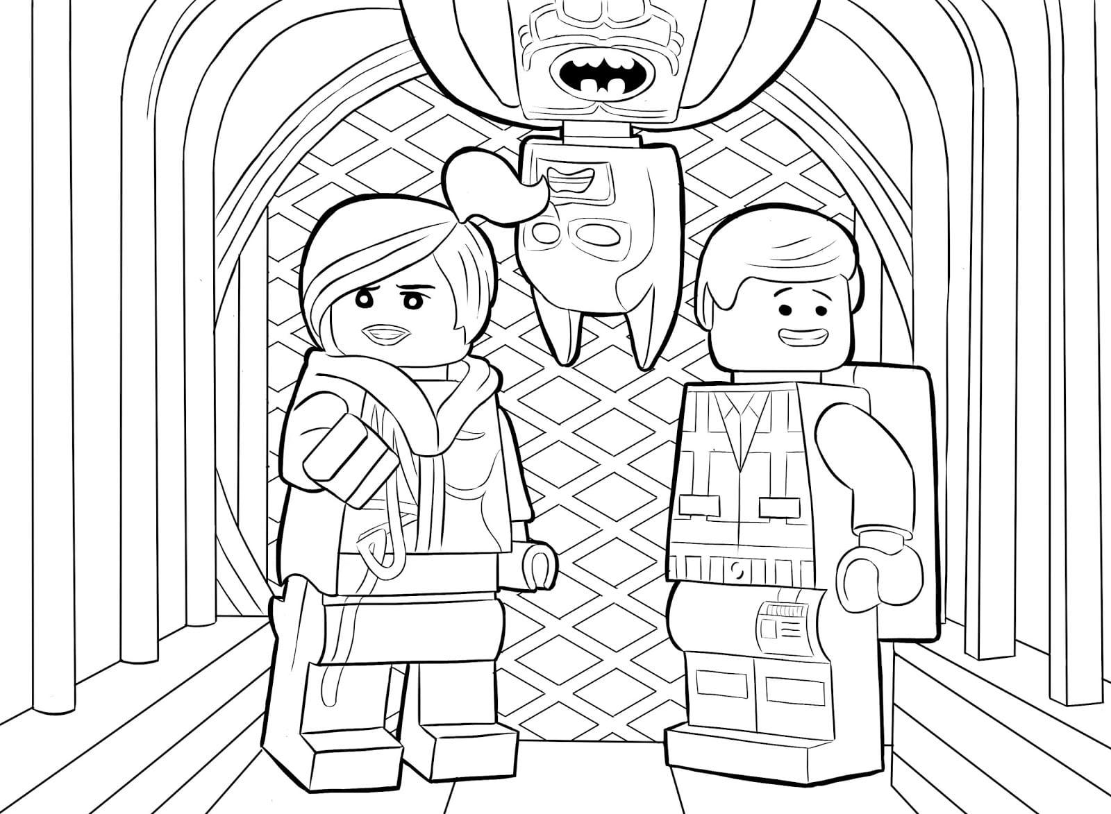 Desenhos Para Colorir Lego Batman 2