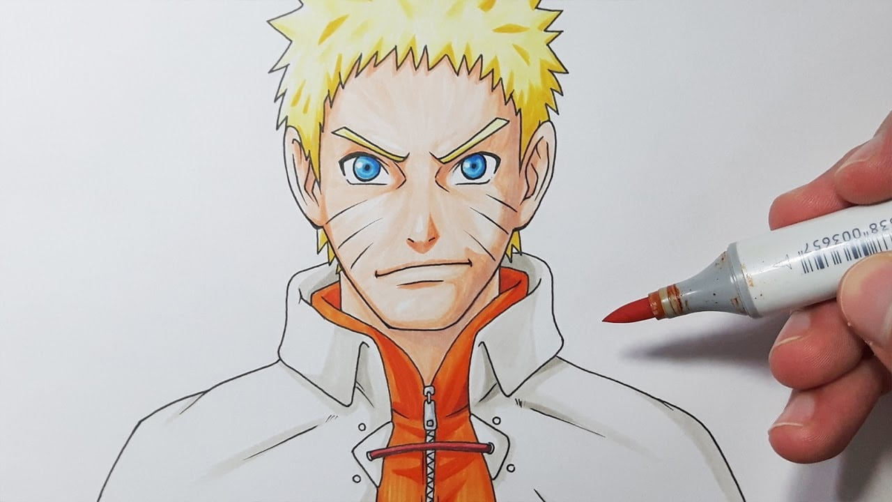 How To Draw Naruto Hokage