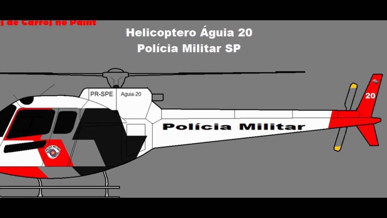 Como Desenhar Helicoptero Da Pm