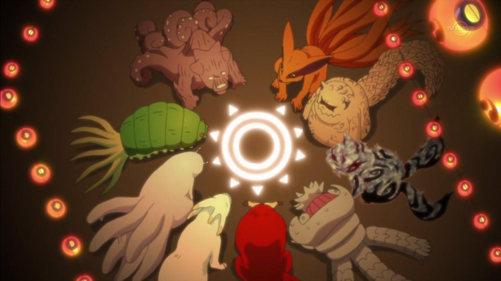 Naruto Les 10 Demon A Queue Et Leur Hote