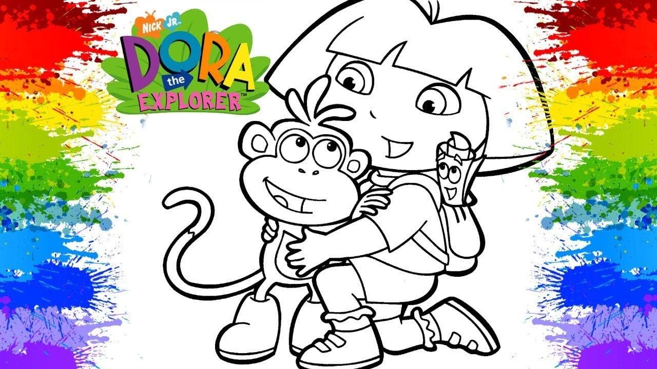 💗😘 Dora Aventureira Em Português Jogos De Pintar Online Videos