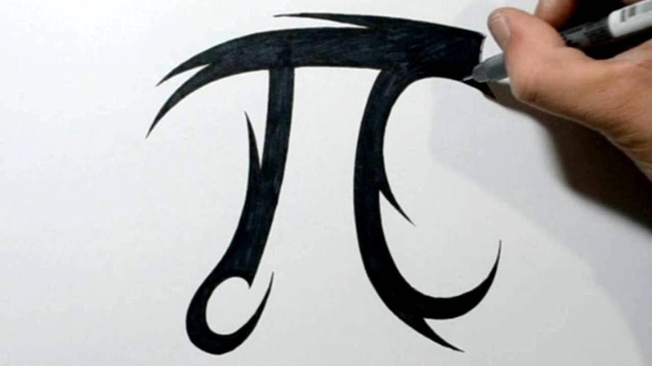 How To Draw A Pi Symbol