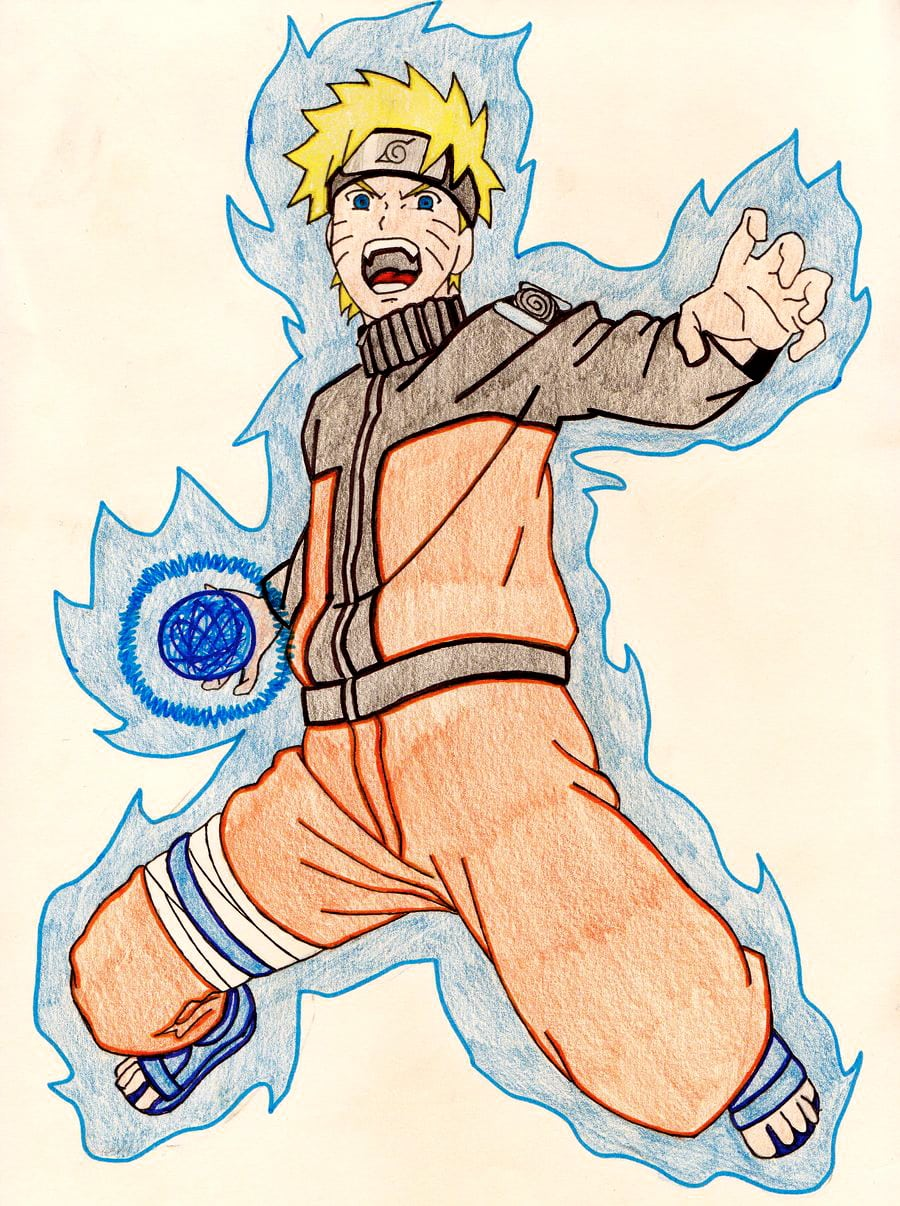 Naruto Rasengan By Tidus
