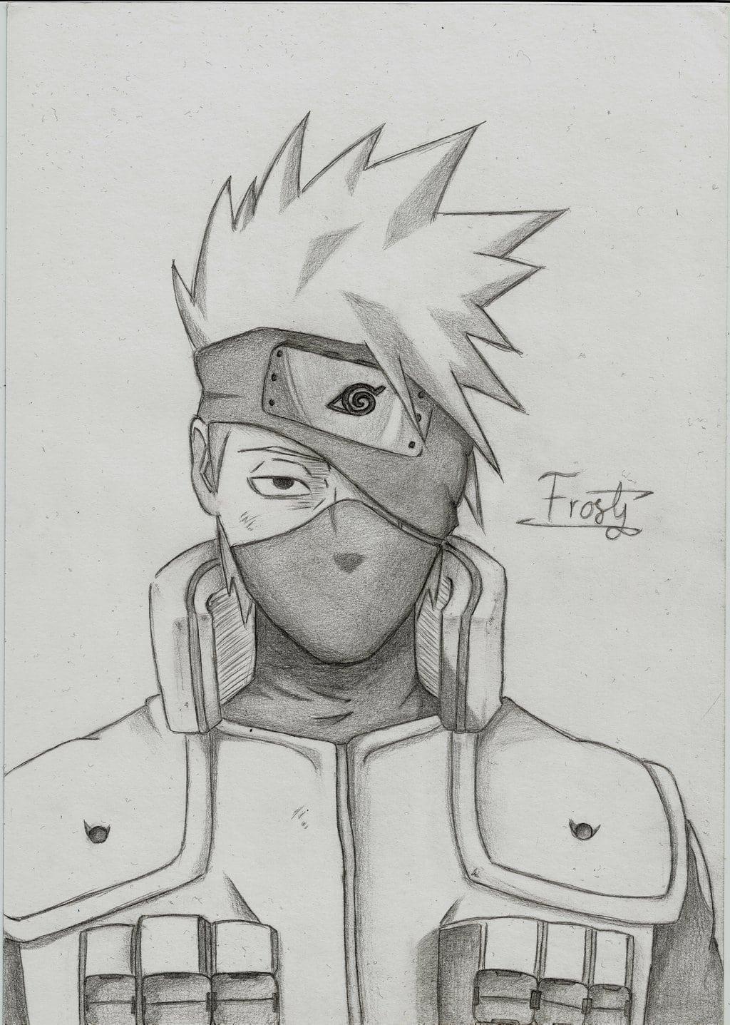 Naruto Shippuden  Kakashi Hatake By Frostytk On Deviantart