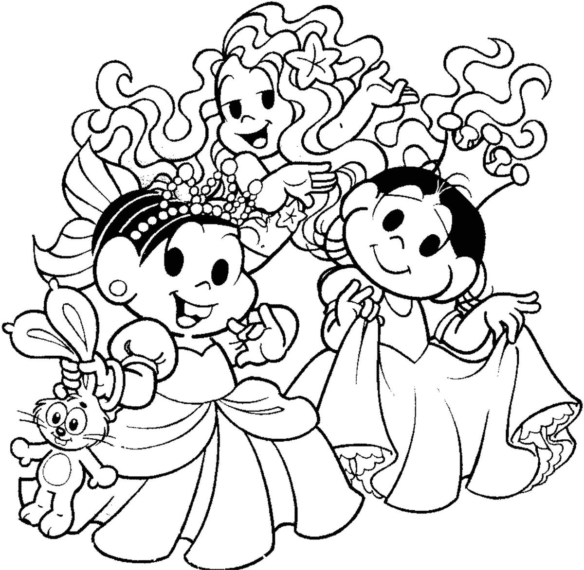 Princesas Para Colorir E Pintar 1