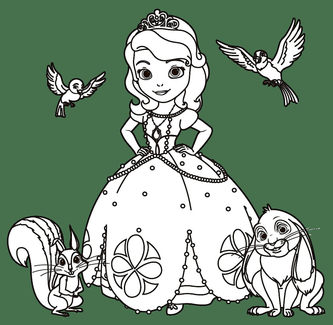 Princesas Para Colorir E Pintar 7