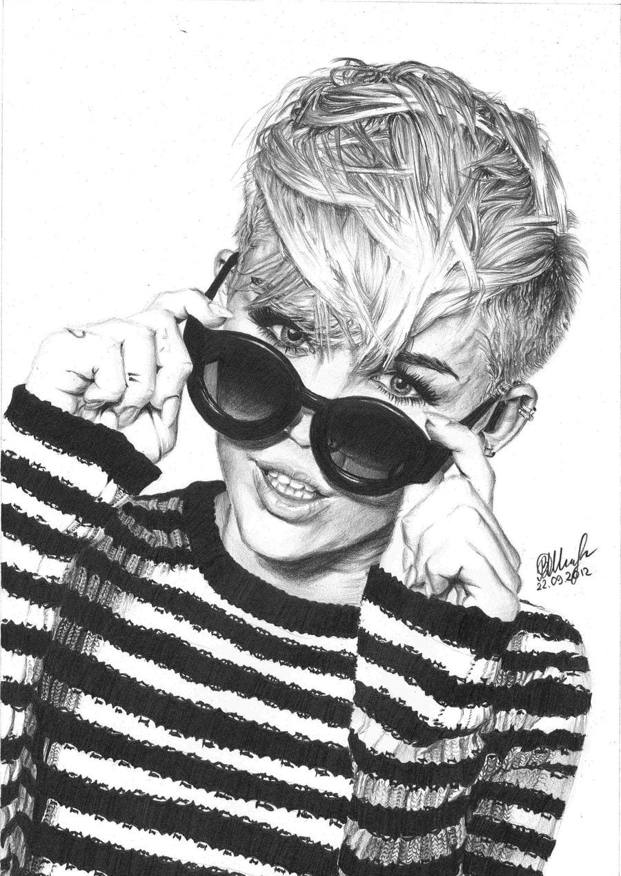 Miley Cyrus By Victoriash On Deviantart